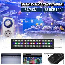 Aquarium Full Spectrum Multi-Color 78 LED Light For 65-80CM Fish Tank+   3
