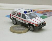 "Herpa 043342:  Chrysler Jeep Grand Cherokee ""BSB Fire Chief"""
