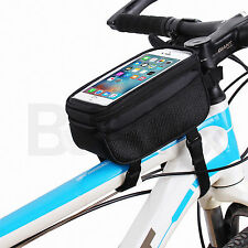Universal Cycling Bike Bicycle Front Frame Storage Bag Pouch Phone Holder Case