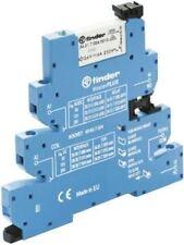 Finder 39 Series[Blank] 12V ac/dc DIN Rail Interface Relay Module, SPDT, Screw