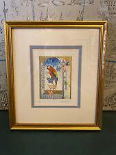 Isabelle Brent Limited Edition Vintage Parrot Signed No Print 149/750