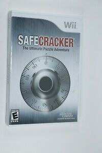 NINTENDO WII SAFE CRACKER ULTIMATE PUZZLE ADVENTURE NEW SEALED SHIPS SAME DAY