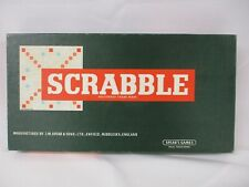 Scrabble, Word Making Board Game,  2 - 4 players, Spear's. Barely Used, Family P