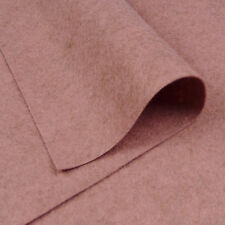Woolfelt Muddy Pink ~ 22cm x 90cm / felt fabric heathered mottled dusty heart
