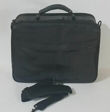 "Kensington Simply Portable Two Plus Leather Briefcase 15"" Notebook Tablet Bag"
