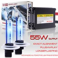1300W 180000LM 5202 2504 5201 LED Fog Light Bulb Lamp Conversion Kit 6000K White