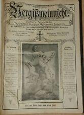 Vergißmeinnicht 1907 Zeitschrift der Trappisten-Mission Mariannhill Südafrika