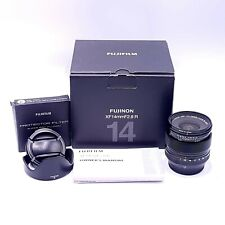 Fujifilm Fujinon XF 14mm f/2.8 Lens + R Fujinon Filtro nella casella