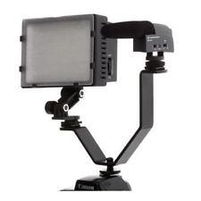 Polaroid V - Shaped Dual Camera & Camcorder Bracket With 2 Standard Shoe Mounts