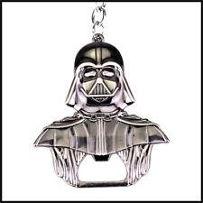 Star Wars Bottle Opener Darth Vader Solid Metal STURDY Keychain Luke Skywalker