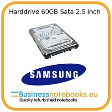 SAMSUNG LAPTOP HARDDRIVE 2.5 INCH 60GB SATA