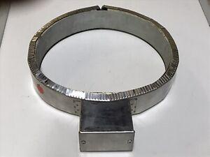 """ProHeat 1817-0210 1000W 280V 8.5"""" ID 2"""" Tall Heat Ceramic Band Heater"""