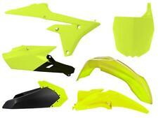 New YZF 250 450 14-17 Racetech Plastic Kit Motocross Plastics Neon Yellow