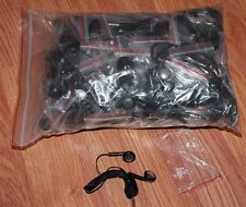 BULK WHOLESALE Lot of 100 BLACK 3.5mm Headphones / Earbuds / Earphones