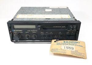 Vintage Blaupunkt Tampa SQR 29 Pull Out Radio, Porsche, BMW, Mercedes Ferrari