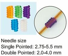 Clover Coil Knitting Needle Holders (Small) - 5 pieces