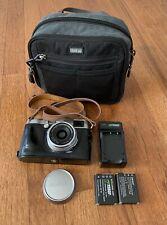 Fujifilm Fuji X100T 16.3MP Digital Camera - With Extras - Low Shutter Count