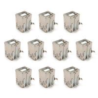10PCS B Type Female Sockets 90 Degree Plug-in Board DIP Printer Square Socket