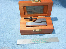 Hermann Schmidt New Grind Vise V0-1-1/2Ss Toolmaker Machinist Case And Wrench Qa