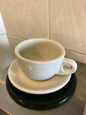 Restaurant Coffee Cups; (Anchor Hocking Cup & Saucer)