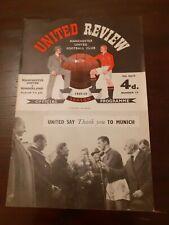 More details for man utd v sunderland program(1957-58)