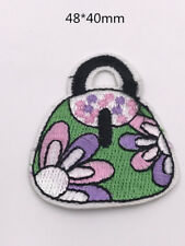 DIY  Sewing Embroidery handbag On Patch Stickers  Embroidered Fabric Applique