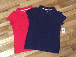Girls Gap Uniform Shirts Size Medium New wirh Tags