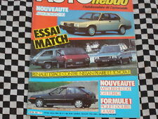 AUTO-HEBDO 1984 RENAULT ESPACE / G.P DETROIT / ALFA ROMEO TZ / COLT GTI TURBO