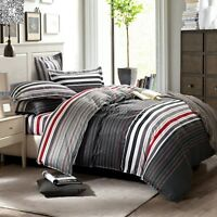Quilt/Duvet/Doona Cover Set Double/Queen/King Size Bed Linen Pillow cases Set