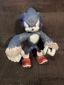 "Sonic The Werehog Sonic Unleashed 6"" Action Figure Sega Jazwares"