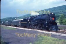 Original slide- PRR 4-6-2 #1361 & Passenger Special At Altoona,PA. 7/87