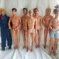 Lot of Vintage Ken dolls