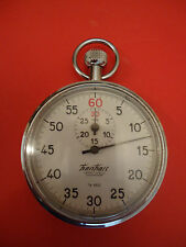 Vintage German Rare Hanhart P.H.Reutlingen Stopwatch Chronometer 7Jewels 1/5sec