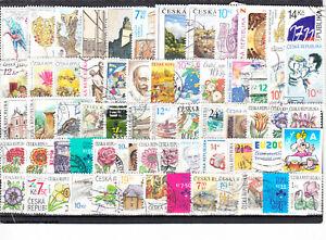 Schönes Lot Briefmarken aus Tschechische Republik gestempelt von 2006 - 2010