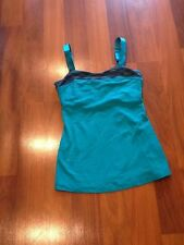 Lululemon Heart Tank Teal Zeal And Space Dye Size 6