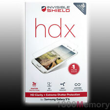 ZAGG Invisible Shield HDX Clarity + Extreme Protection for Samsung Galaxy S6
