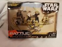 Battle Pack Battle Above The Sarlacc and Sith Lord Attack Star Wars
