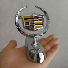 Chrome Car Front Grilles Hood Stand Ornament Emblem Fit for Cadillac SRX ATS XTS