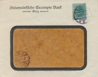 528) AUSTRIA - ÖSTERREICH PRIVAT STATIONERY COVER 1919  - LOCAL GRAZZ !!