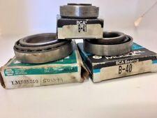 Timken LM501349 / LM501310 Mogul B-40 & B-41 Roller Bearings 55 Chev. NOS