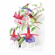 Pop-Up Sight 'n Sound Greeting Card by Up With Paper - Hummingbirds