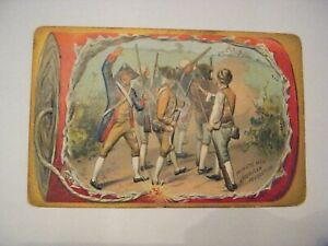 Tuck Independence Day Post Card, Minutemen American Revolution