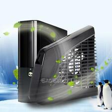 New Black USB UP Cooling Fan External Side Cooler for Xbox 360 Slim Console