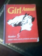 Girl Annual Number 5, An Eagle Book, Published 1954, Vintage Book