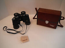 VINTAGE TASCO ZIP 323Z 8 x 40 WIDE ANGLE BINOCULARS W/BOX CASE STRAP AND CLOTH