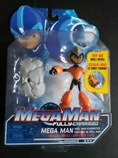 Mega Man: Fully Charged Megaman w/ Drill Man Schematics NEW part lot Rock Man