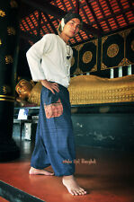 Dunkelblaue Haremshose Aladdin Goa Harem Pants 100% Baumwolle 1502