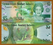 Cayman Islands, $5, 2010 (2011), P-39a, QEII, UNC