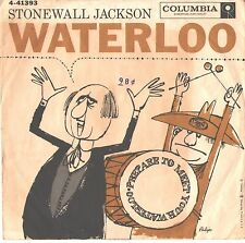 STONEWALL JACKSON--PICTURE SLEEVE ONLY---(WATERLOO)--PS--PIC--SLV