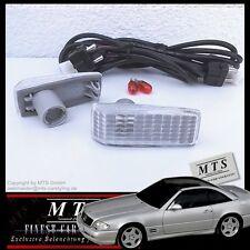 WEISSE Seitenblinker Mercedes W201 W124 W126 C126 W140 C140 W202 R129 AMG
